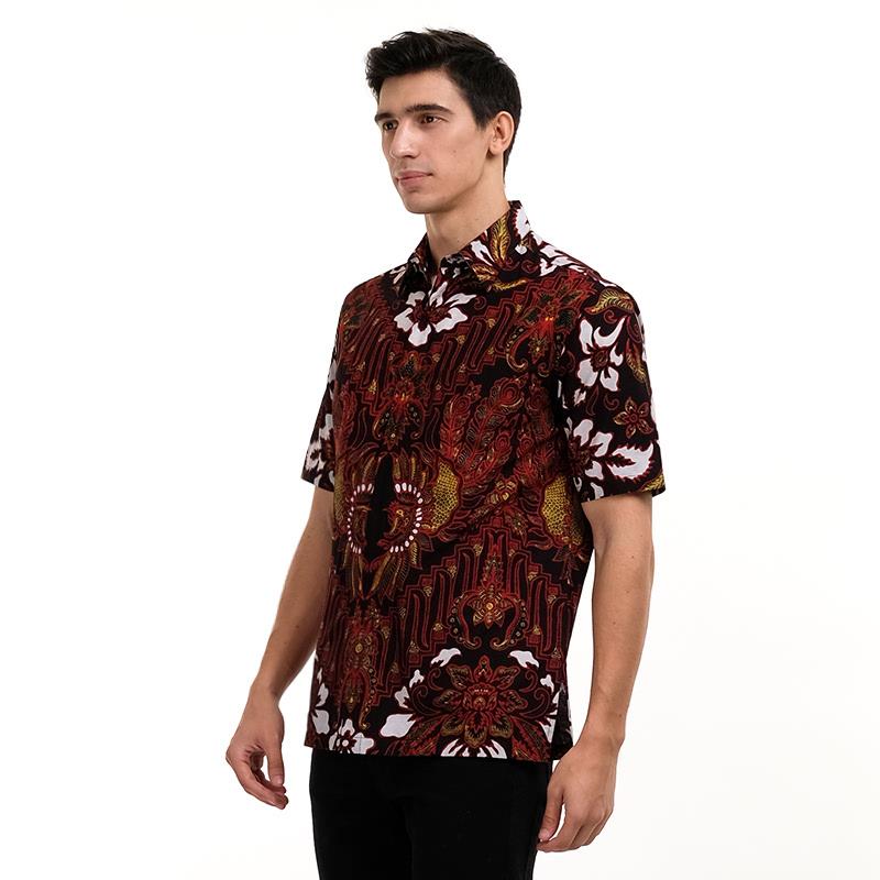 Batik Semar Pa C Citra Budaya Shirt Black