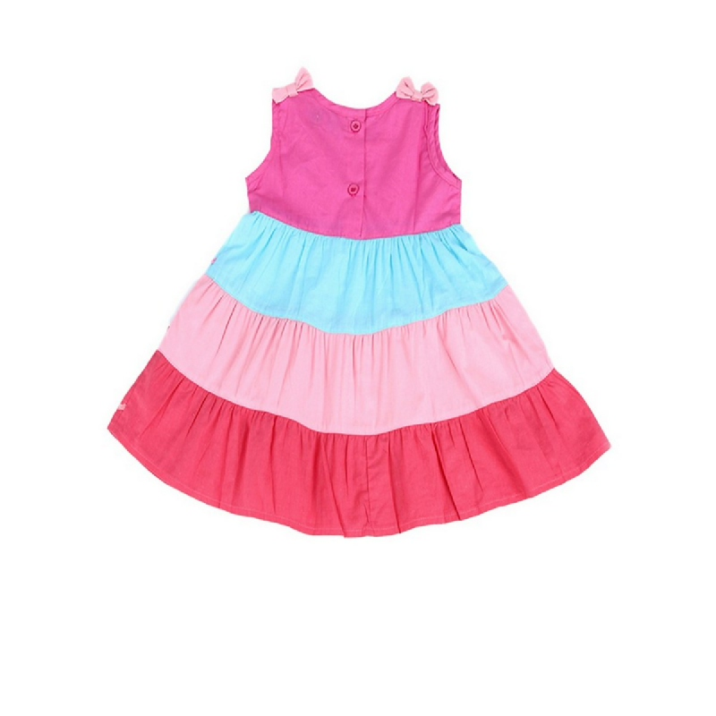 4 You Multicolour Stack Dress Pink