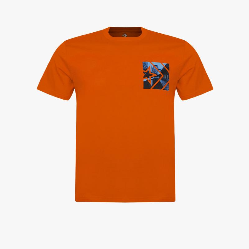 Converse Street View Men Tee Orange