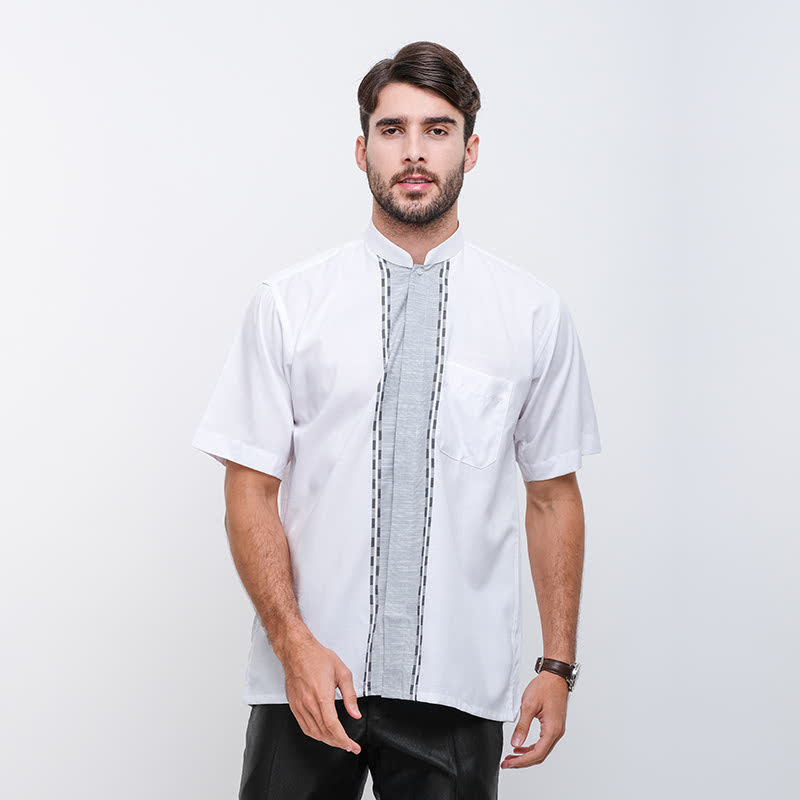 Gianni Visentin Regular Shirt Putih