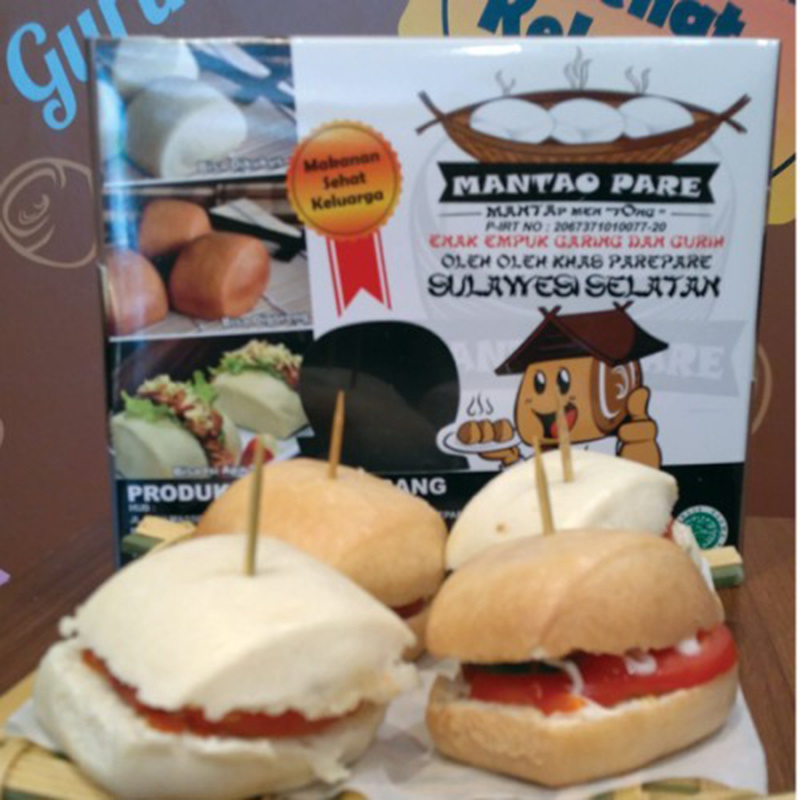Mantao Pare - Mantao Strawberry Paket 12 (isi 36 pcs)