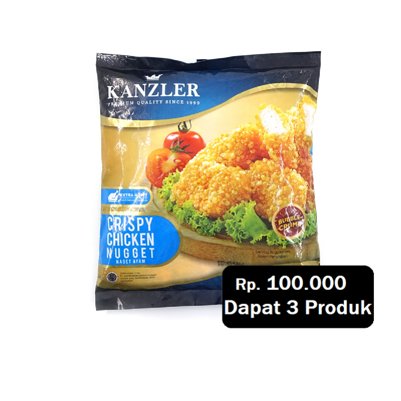 Kanzler Nugget Crispy 450G (Rp. 100.000 Dapat 3)