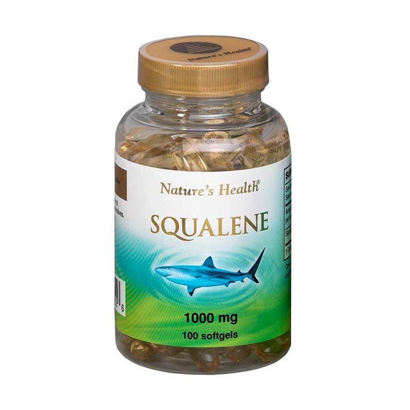 Natures Health Squalene 1000 Mg 100 Softgels