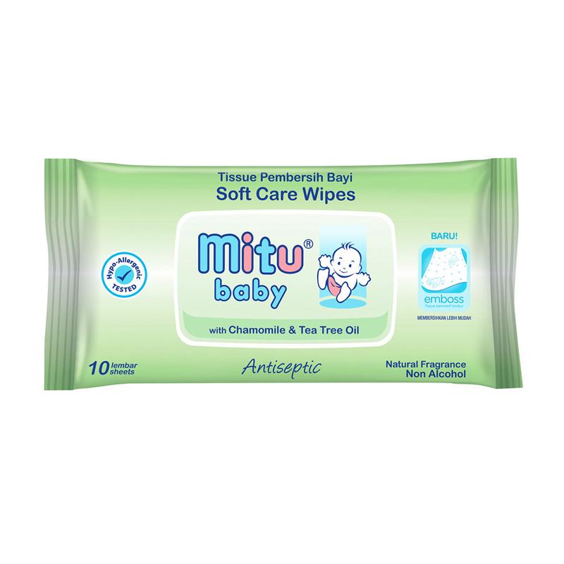 Mitu Baby Tisu Bayi Travel Pack Antiseptic 1