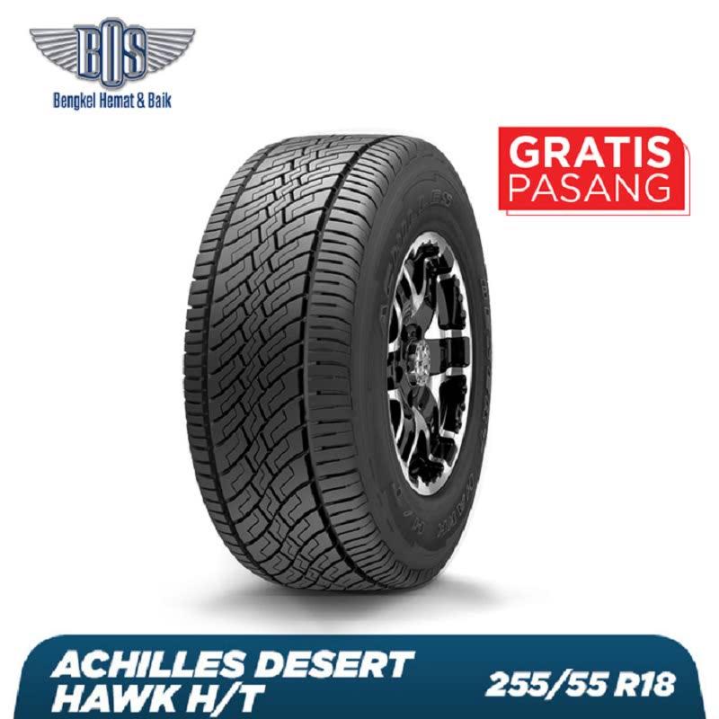 Achilles Promo Event Ban Mobil Desert Hawk HT-P255-55 R18 109H XL - Tahun 2016 - Gratis Jasa Pasang dan Balancing