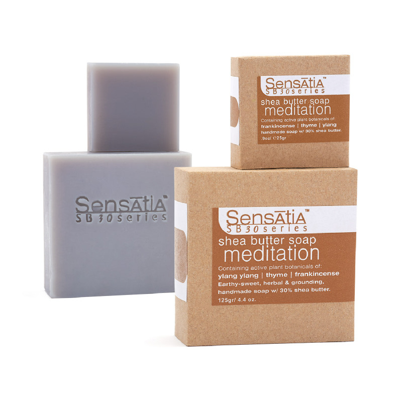 meditation shea butter soap - 25gr