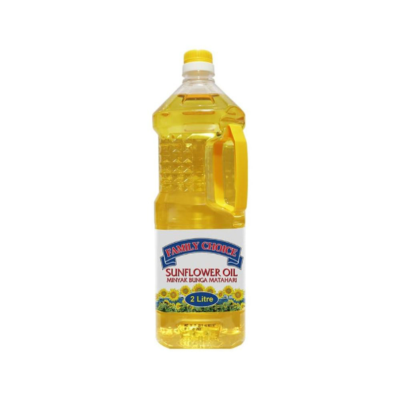 Minyak Bunga Matahari (Sun Flower Oil) Family Choice 2 Liter