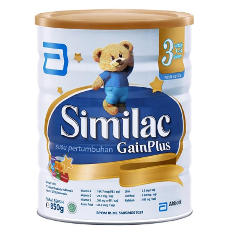 Similac Gain Plus 3 850 Gr