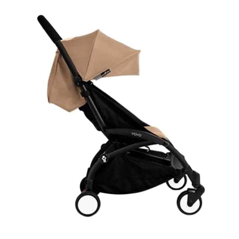 Babyzen Yoyo Stroller + Frame Black New Born Kereta Dorong Bayi [6+] Taupe