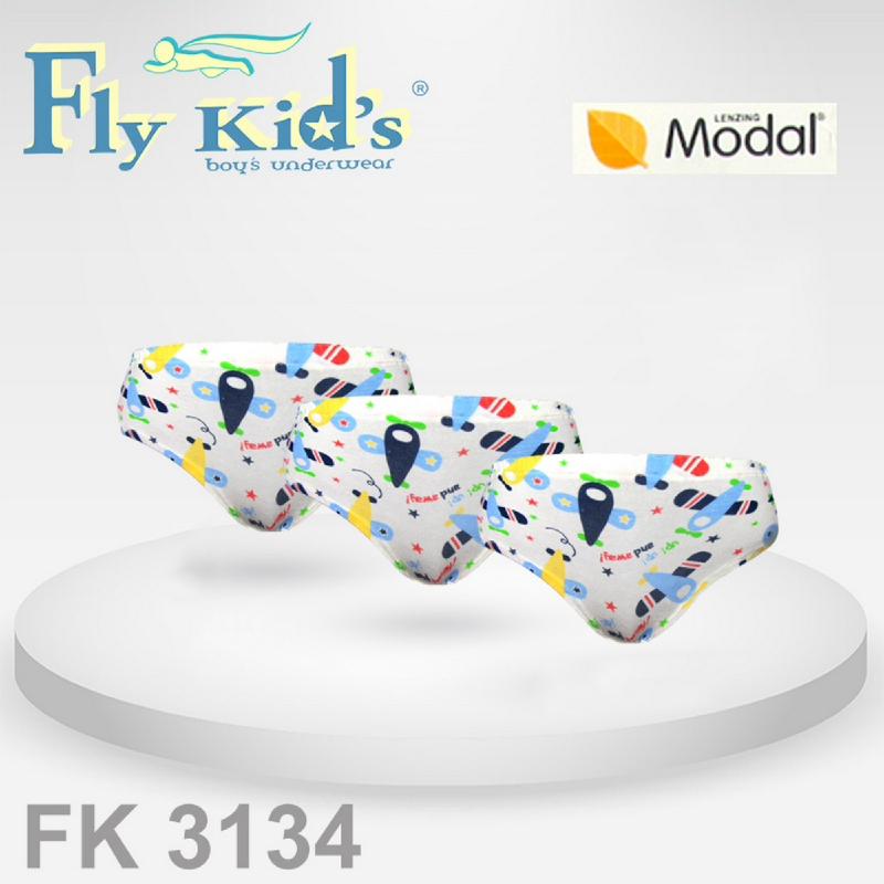 Flykids Celana Dalam Anak Laki - Underwear Anak Laki - Pakaian Dalam Anak FK 3134