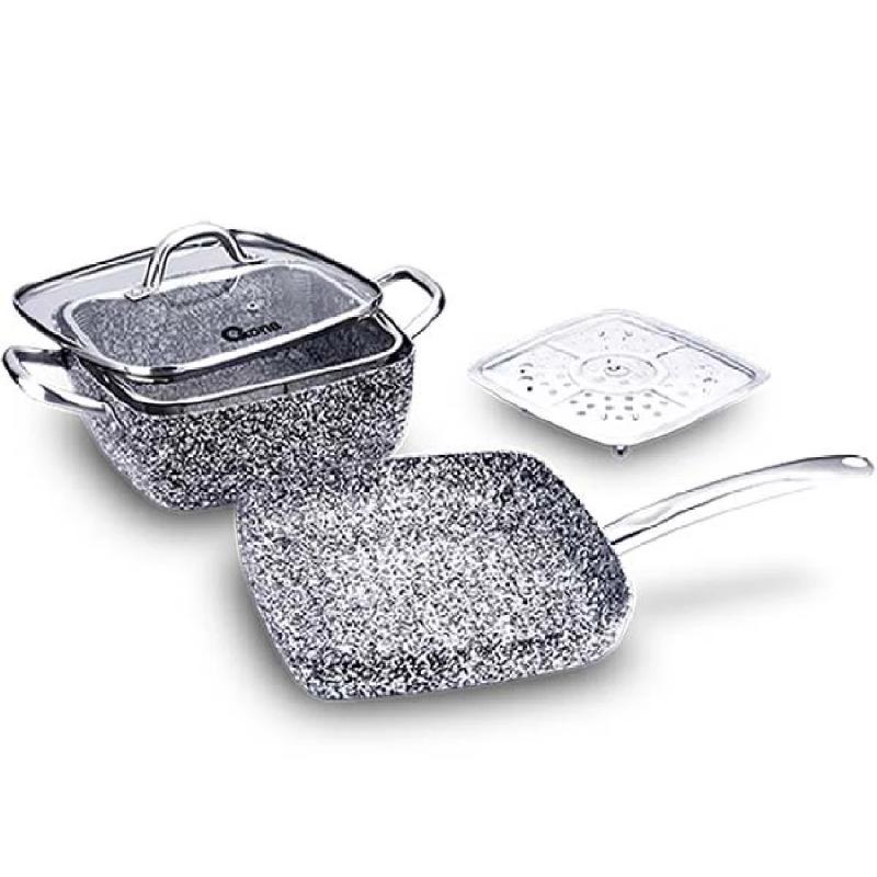 Oxone 5 pcs Granite Cookware Set