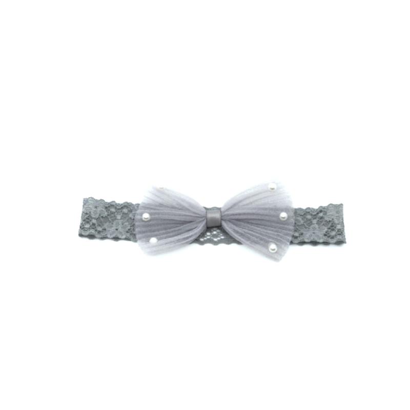 BabyLand Pearly Ribbon Headband PRH001
