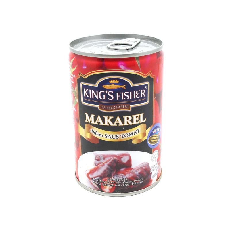 King S Fisher Mackerel Tomat 425 Gr
