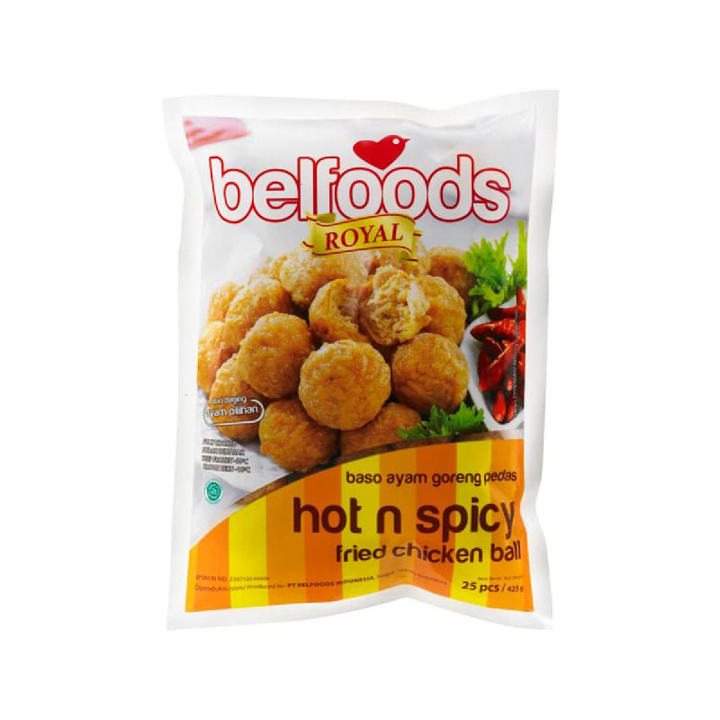 Belfoods Royal Baso Goreng Ayam Pedas 425g