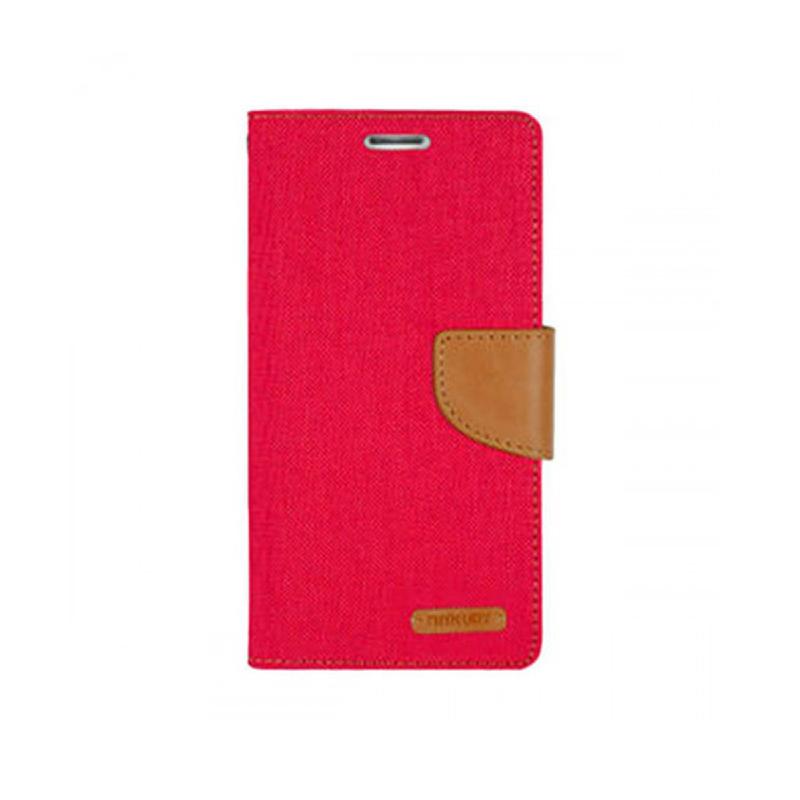 Canvas Diary Samsung Galaxy A7 (2017) Merah
