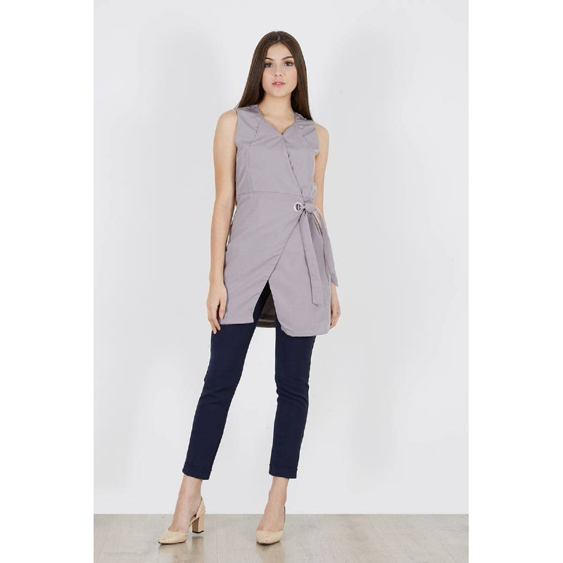 Pinta Blouse Grey