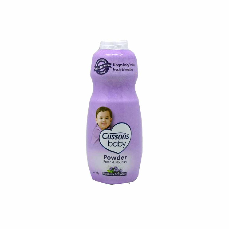Cussons Bedak Bayi Blueberry Smoothie 350 Gr