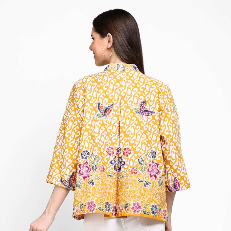 Astari Batik Top Cetek Encim Yellow