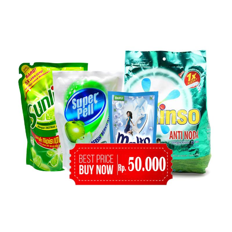 Paket Cleaning Rp 50.000