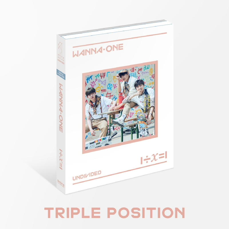 [CD] Wanna One - Special Album - UNDIVIDED (Triple Position ver.)