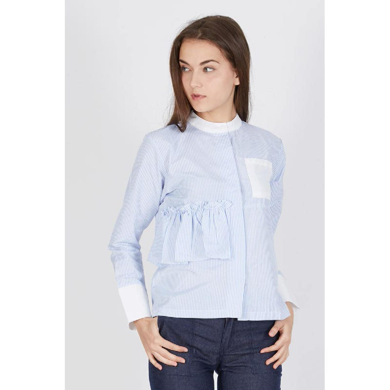 Petra Shirt Stripe Blue