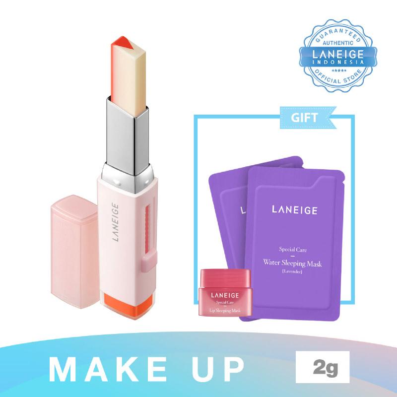 000000479622 Laneige Two Tone Tint Lip Bar No 2 Tangerine Slice + Water Sleeping Mask Lavender 4Ml + Lip Sleeping Mask  3G