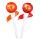 Chupa Chups Lip Locker Orange 7g + Strawberry 7g