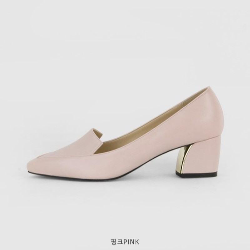 Newkid Stiletto Mid Heel (5cm) Pink