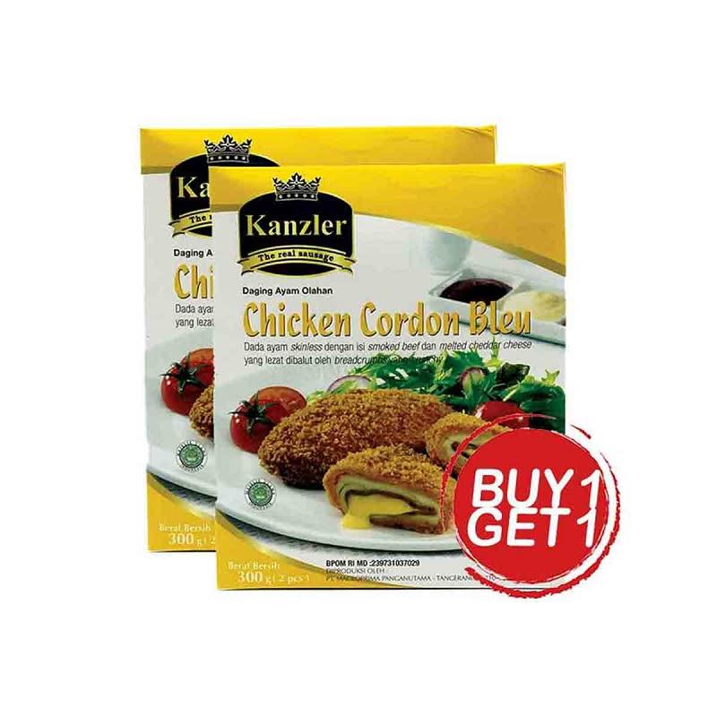 Kanzler Chicken Cordon Bleu 300 Gr (Buy 1 Get 1)