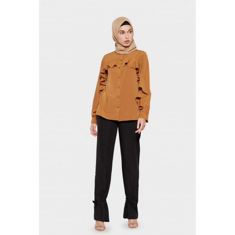 Suqma Aria Shirt Maple Brown
