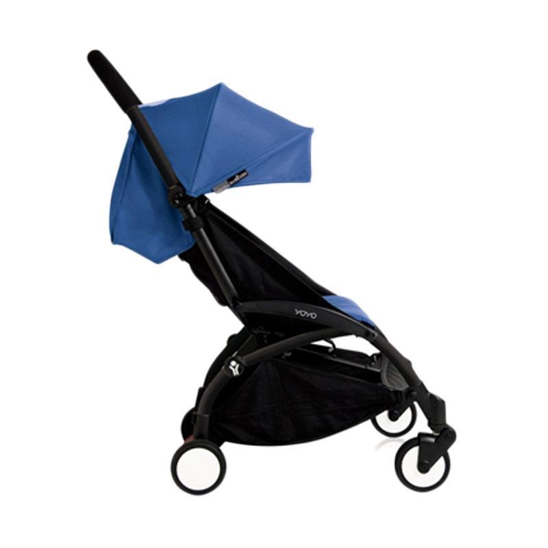 Babyzen Yoyo Stroller + Frame Black New Born Kereta Dorong Bayi [6+] Blue