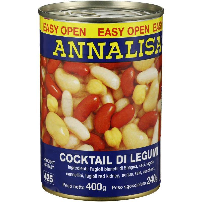 Annalisa Four Beans Mix 400G
