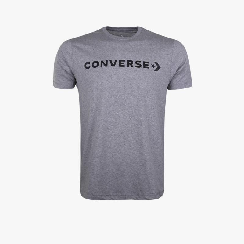 Converse Star Logo Graphic Men Tee Grey