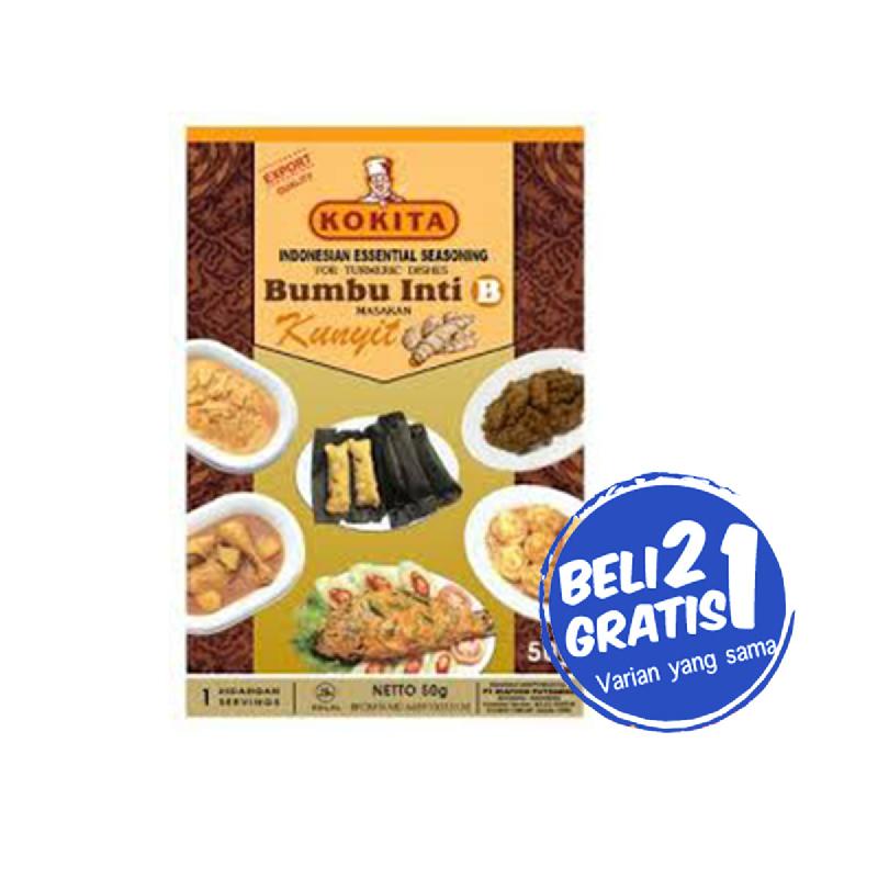 Kokita Bumbu Inti B 50 Gr (Buy 2 Get 1)