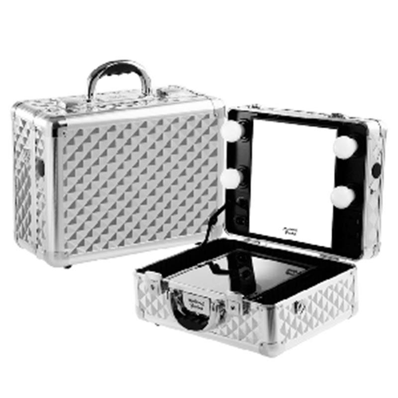 Silver Diamond L Box with 3 Tone Basic LED
