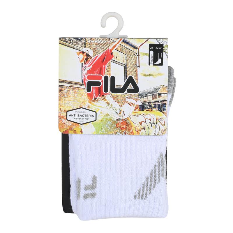 Fila Quarter Socks Quarter Socks - Fire Fox White