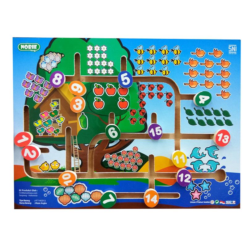 Atham Toys Maze Angka