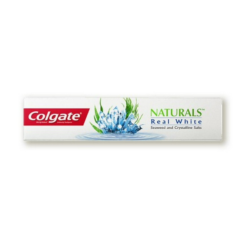 Colgate Natural Real White Sea & Salt 120 g
