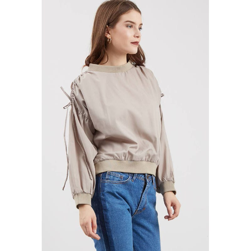 Tobby Sweater Top Brown