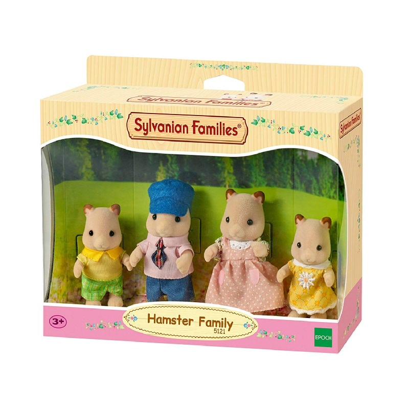 Sylvanian Families Hamster Family ESFF51210