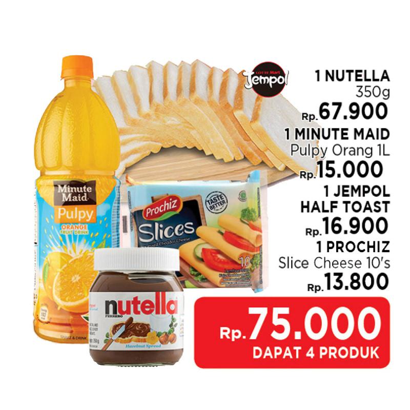 Paket Sarapan Rp 75.000