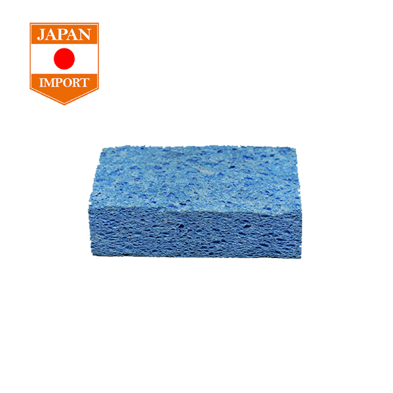 AQ Car Wash Sponge Cuci Mobil Alat Kebersihan Aksesoris Mobil [Japan Import] SS17 BLUE
