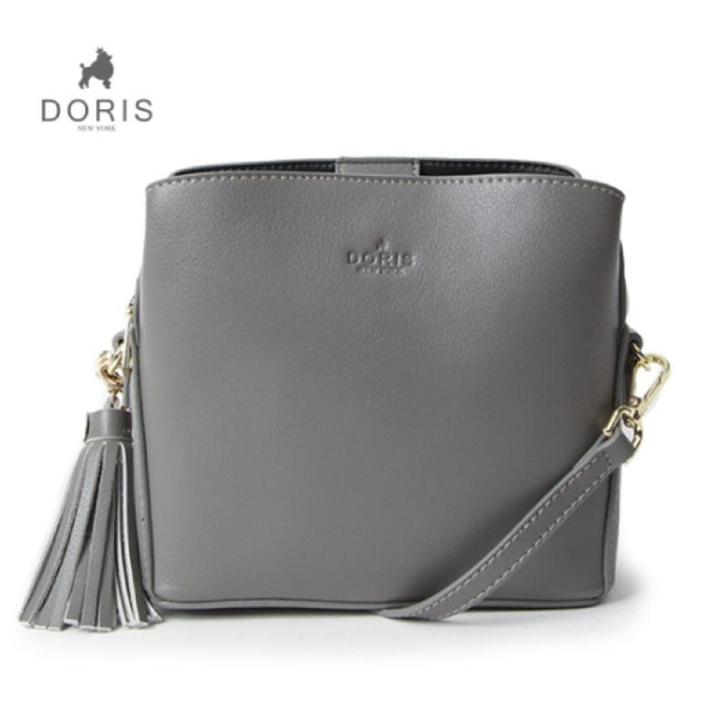Doris New York DN B-612 Eden Cross Bag - Gray