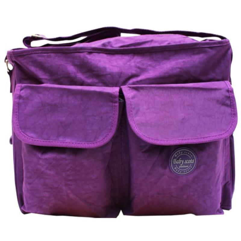 Baby Scots PlatinumScots Mommy Bag 065MB065 Ungu