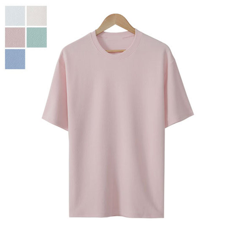 LW_River Round Short Sleeve T-shirt - Pink