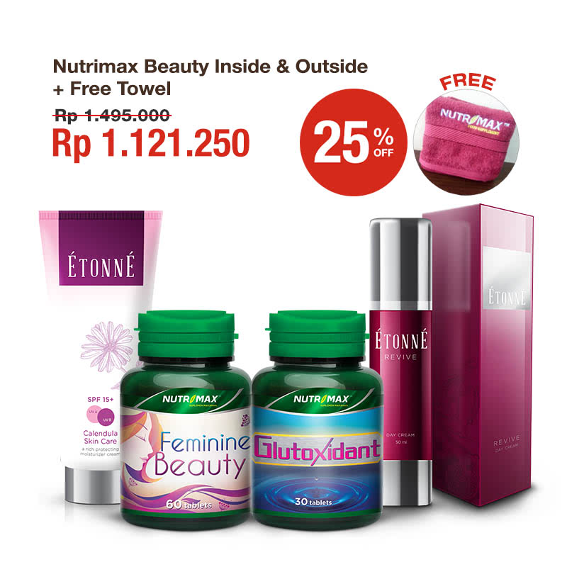 Nutrimax Beauty Inside & Outside + Free Towel