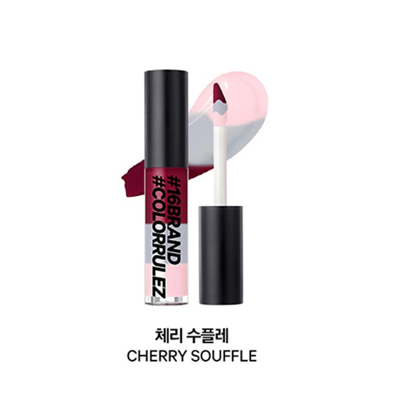 16brand 16 Colorrulez 3-Layered Tint Gloss - Cherry Souffle