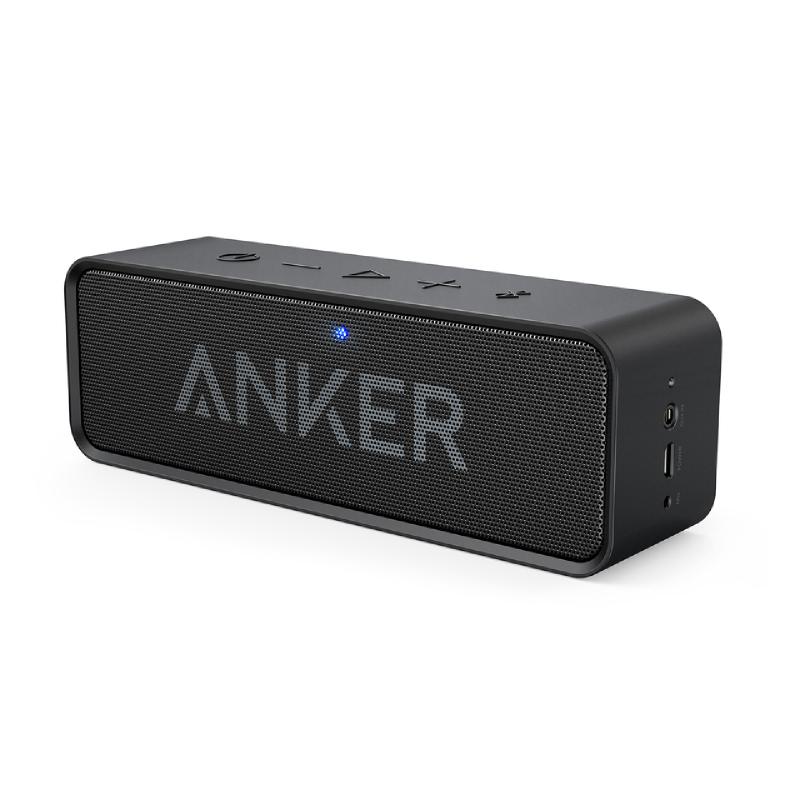 Anker Speaker Portable SoundCore Blac Bluetooth Stereo A3102011 - Hitam