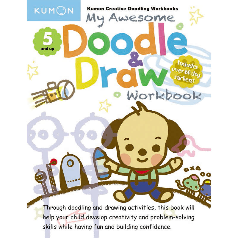 Kumon My Awesome Doodle & Draw Book