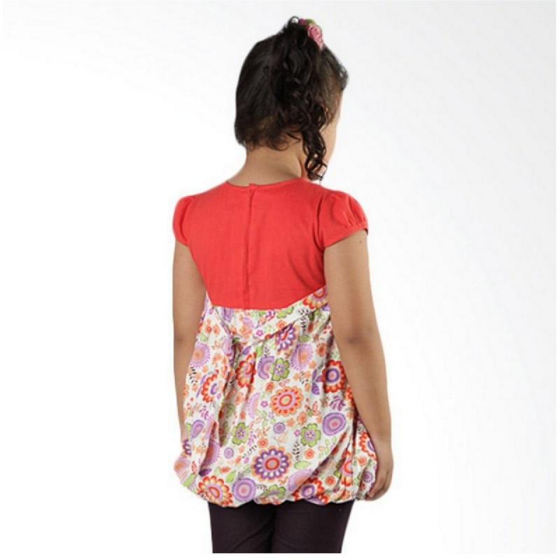4 You Flower Dress Orange